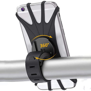 Bike Phone Holder - Universal Motorcycle Handlebar Bracket, Phone Holder for Motorcycle - bginvention
