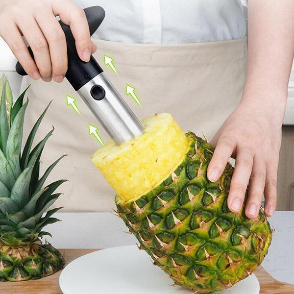 Stainless Steel Pineapple Peeler - bginvention