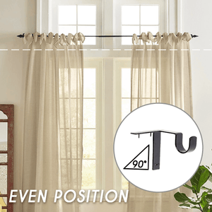 Curtain Rod Brackets(1 Pair) - bginvention