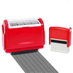 Identity Theft Protection Roller Stamp - bginvention