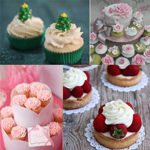 8 Pieces DIY Cake Decoration Decorating Mouth - bginvention