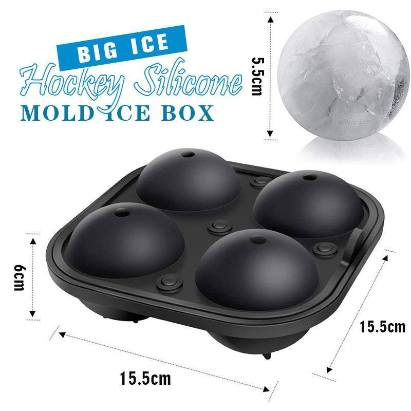 Big Ice Hockey Silicone Mold Ice Box - bginvention