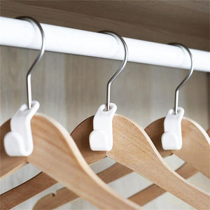 Clothes Hanger Connector Hooks - Space Saving Hanger Hooks - bginvention