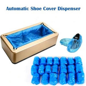 Automatic Shoe Cover Dispenser (Contains 100 covers) - bginvention