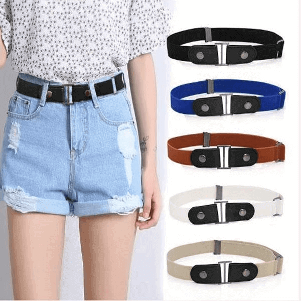 Buckle-free Invisible Elastic Waist Belts - bginvention