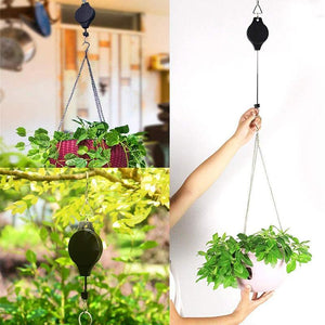 Easy Reach Plant Pulley Set - bginvention