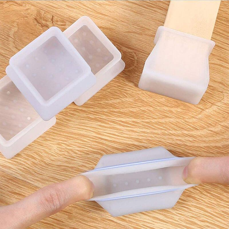 Furniture Silicone Protection Cover Round/Square (16pcs/set ) - bginvention