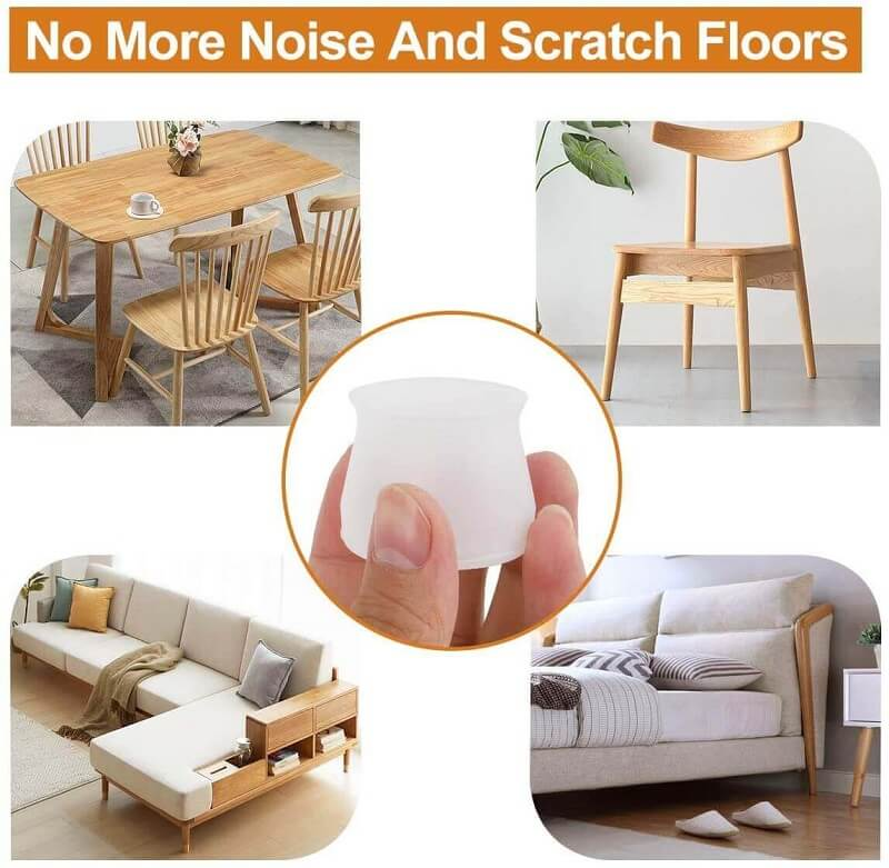 Furniture Silicone Protection Cover One Set (16 PCS) - bginvention