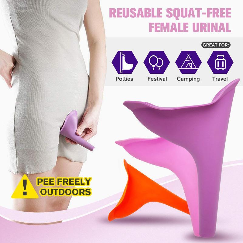Reusable Squat-free Female Urinal - Women Urinal, Outdoor, Activities, Camping - bginvention