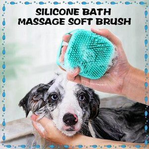 SoftBath Silicone Bath Massage Soft Shampoo Brush - bginvention