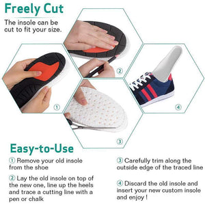 Sponge Heightening Insoles Shoe Inserts - bginvention