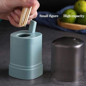 Automatic Pop-up Toothpick Box - Toothpick Holder, Toothpick Dispenser for Home Office Cafe - bginvention