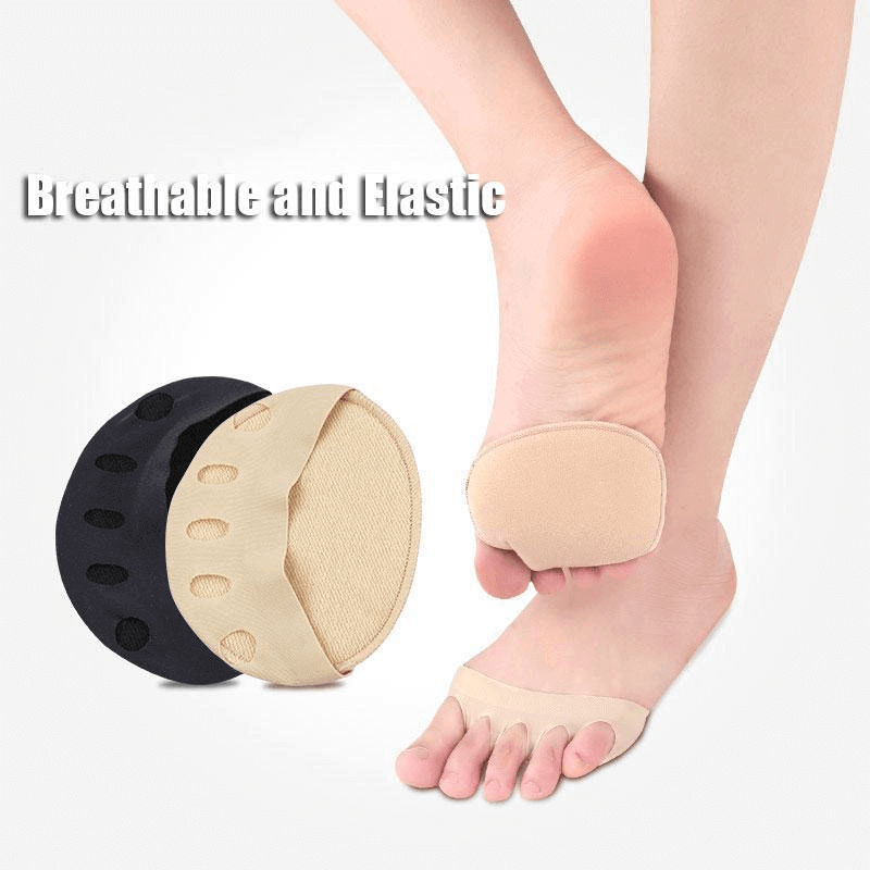 Honeycomb Fabric Forefoot Pads - Foot Pain Relief Cushion High Heel Shoes Insert Insoles - bginvention