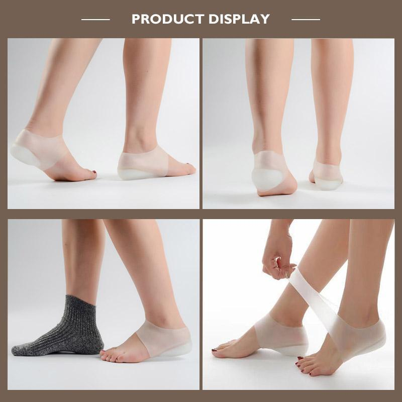 Invisible Height Increased Silicone Lift Insoles - bginvention