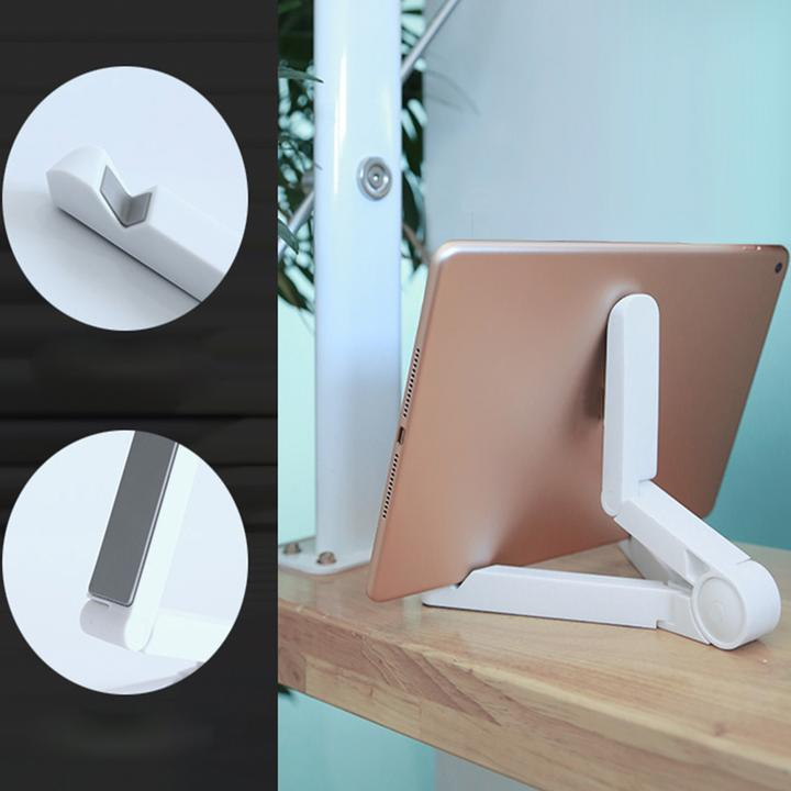 Foldable Tablet Holder - Mini Universal Portable Foldable Holder Stand Foldstand for iPhone iPad - bginvention