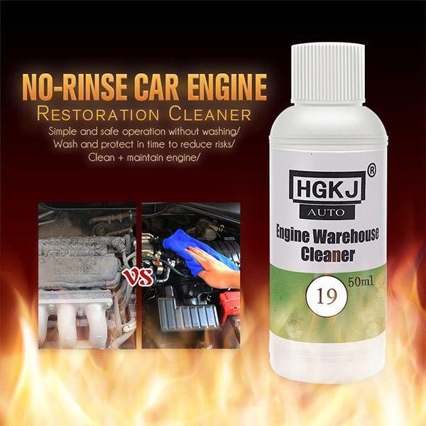 No-Rinse Car Engine Restoration Cleaner - Removes Heavy Oil from Engine Compartment - bginvention