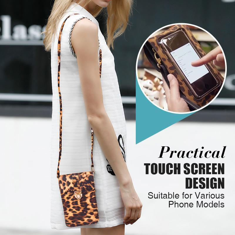 Touchable PU Leather Change Bag  Mobile Phone Bag - bginvention