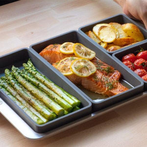 Versatile Grid Cooking Dividers - bginvention