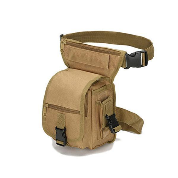 Versatile Tactical Waist Leg Bag - Multi-function Outdoor Leg Bag, Waist Bag - bginvention