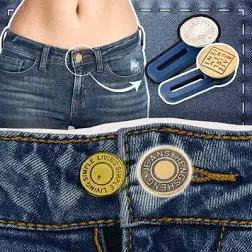 Waist Extender - Jeans Retractable Button (3PCS) - bginvention