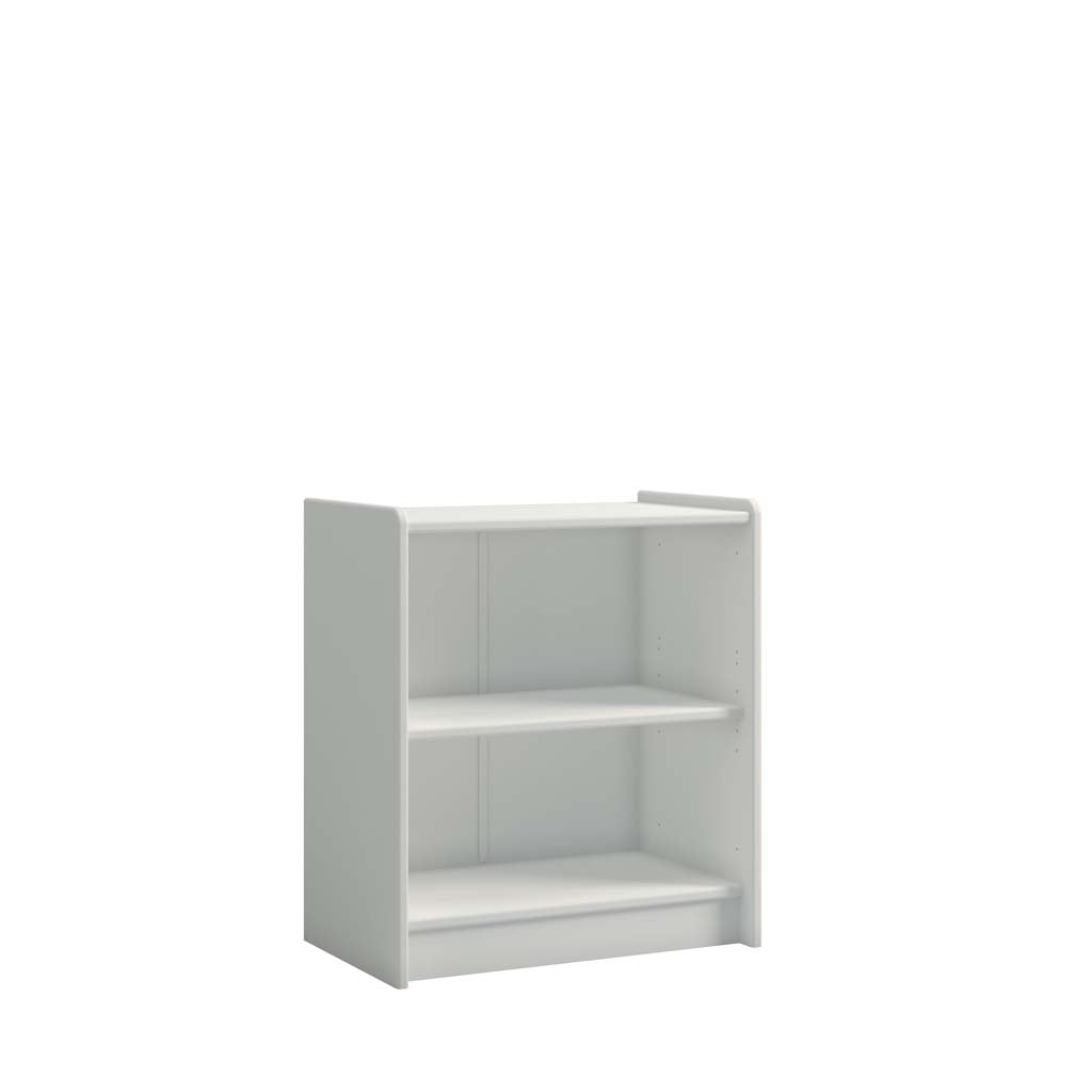 Aster White Low Bookcase