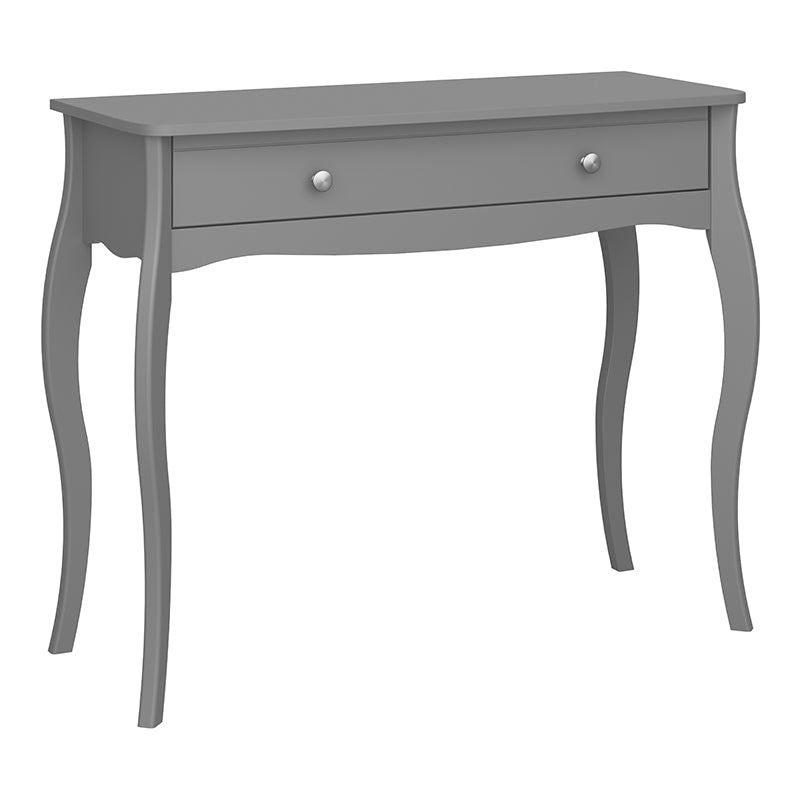Rose Grey 1 Drw Vanity