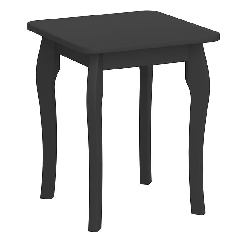 Rose Black Stool