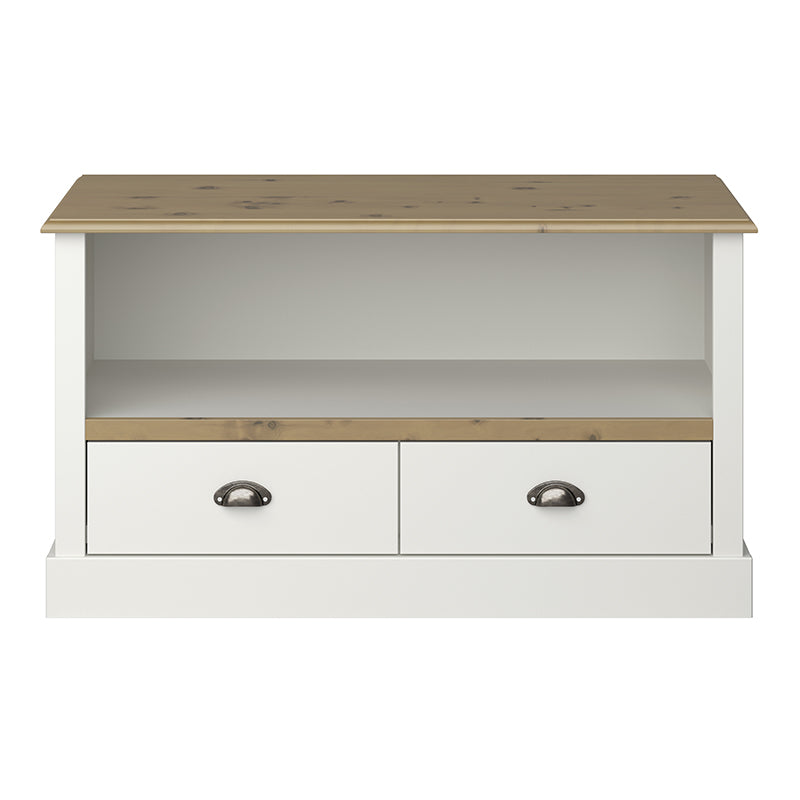Tulip Living Grey & Pine Tv Unit