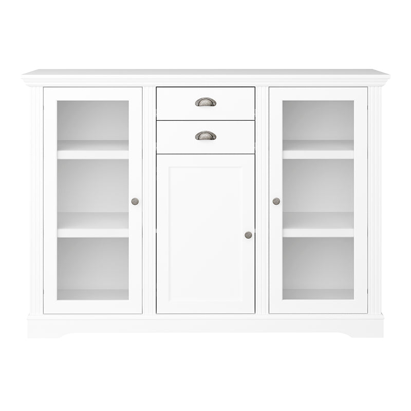 Camellia - White 3Dr 2 Dwr Sideboard