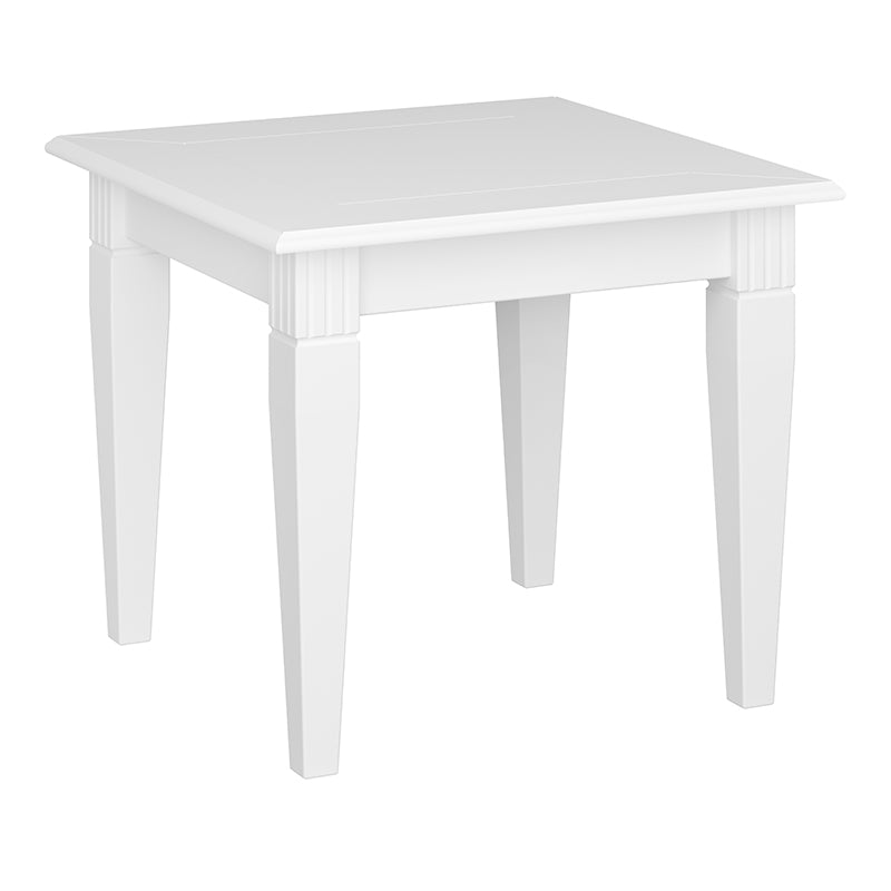Camellia - White Side Table