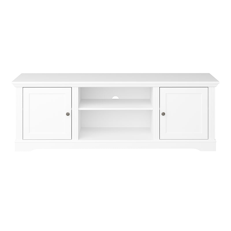Camellia - White Media Table (Large)