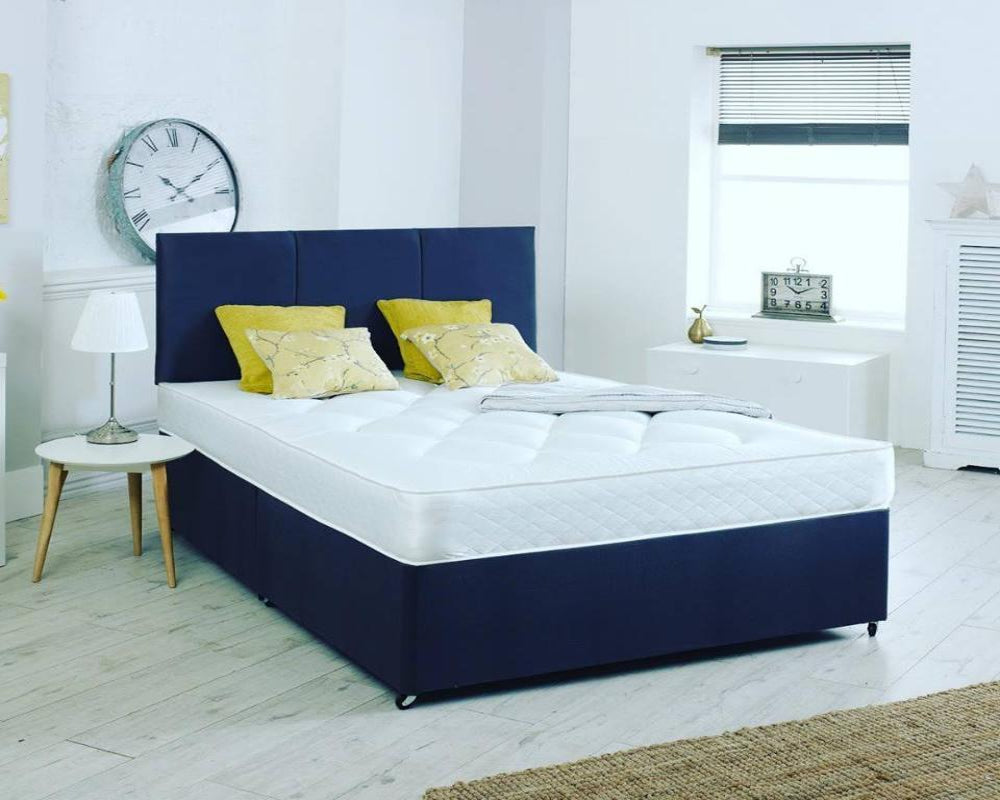Divan Base and Headboard Bed Frame