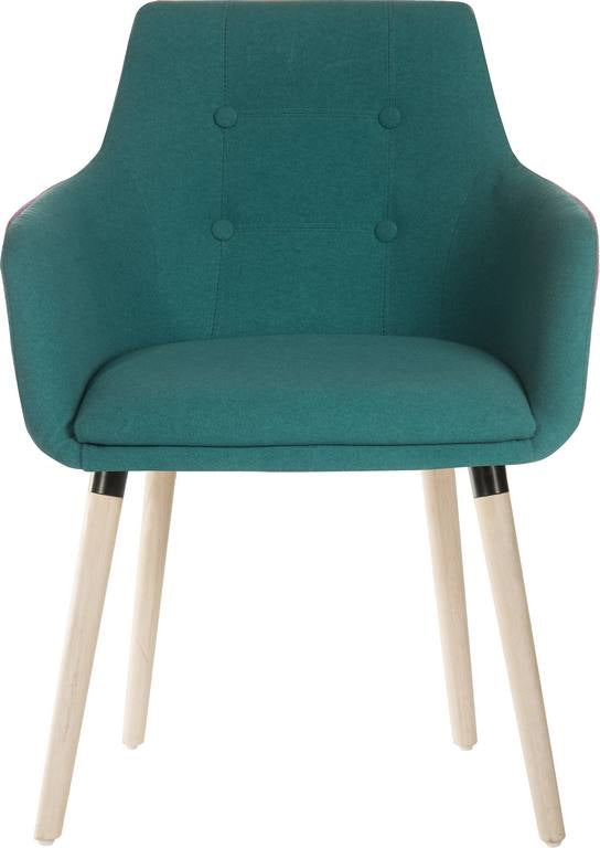 Four Legged Reception Chair (Jade)