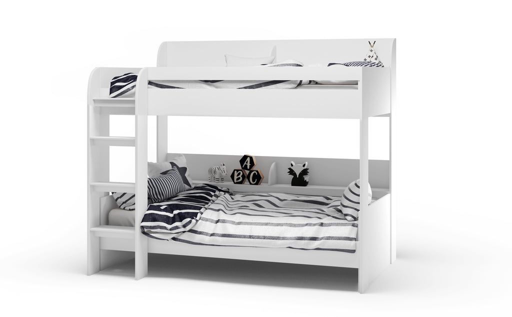 Aerial Bunk Bed White