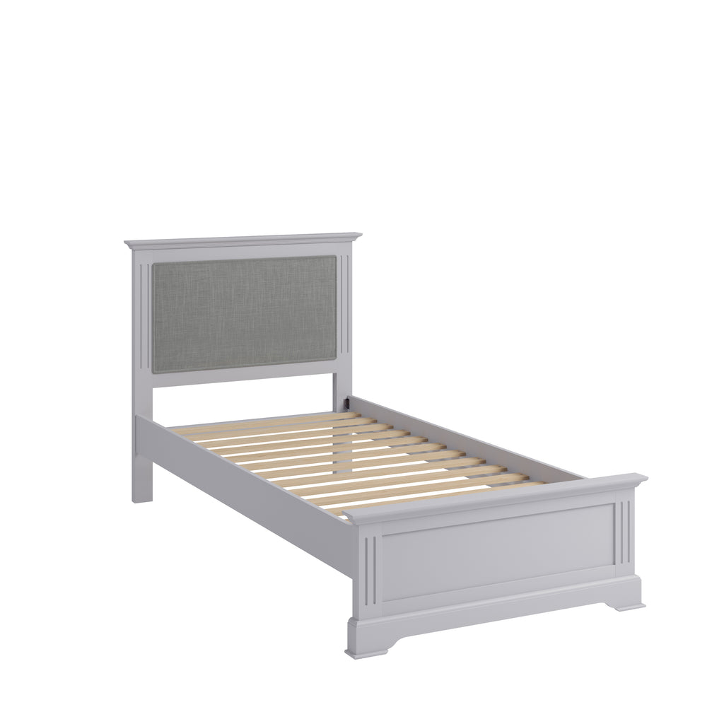 Paris Single Bed Grey
