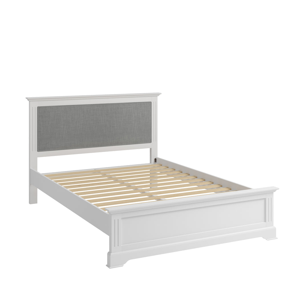 Paris Double Bed White