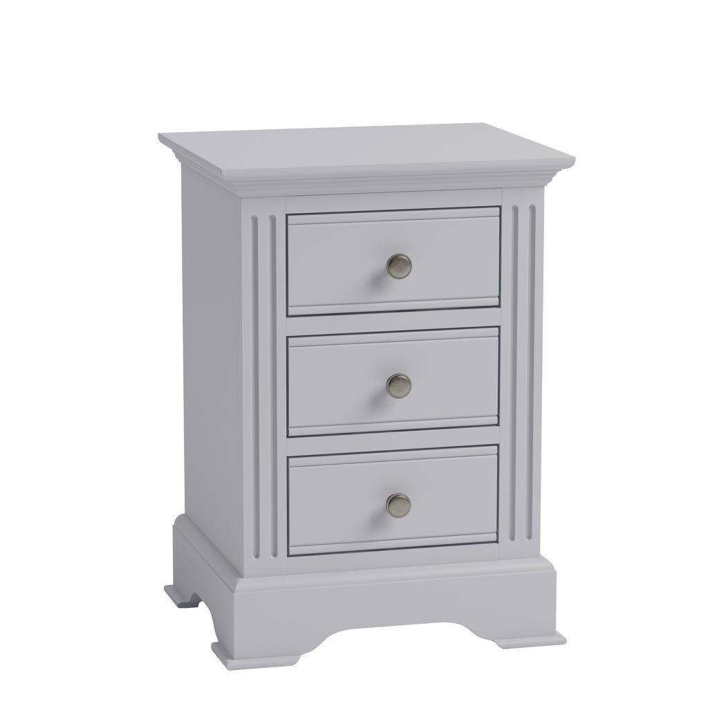 Paris Large Bedside Grey