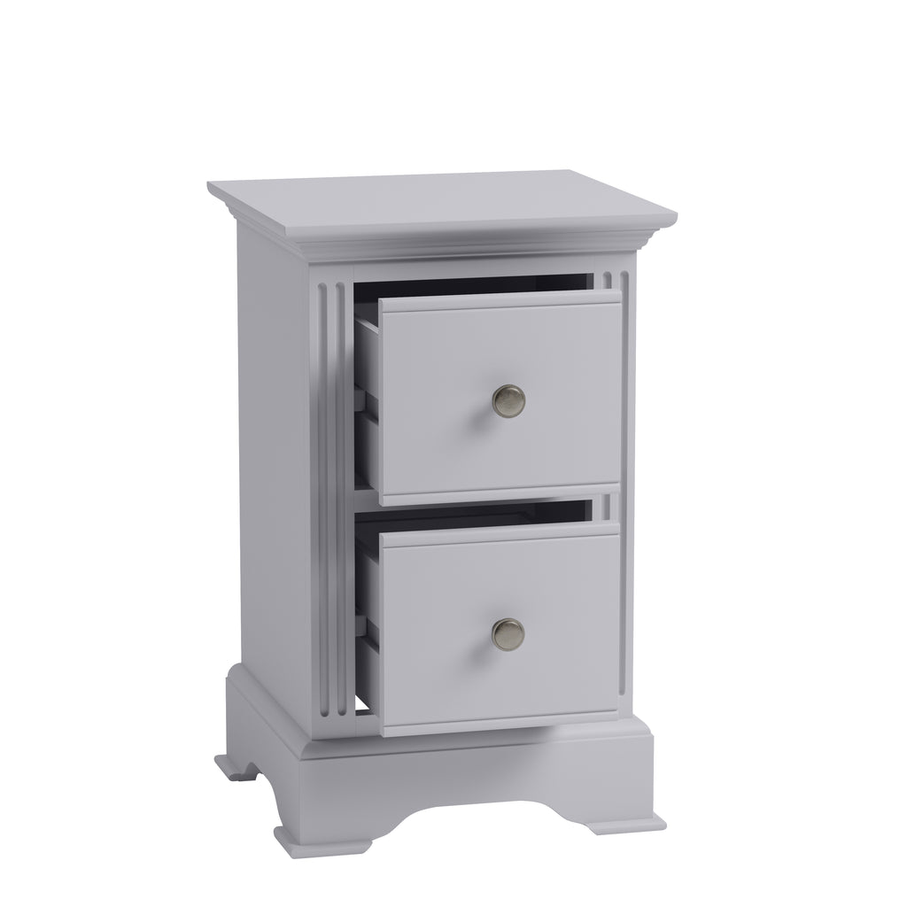 Paris Small Bedside Grey