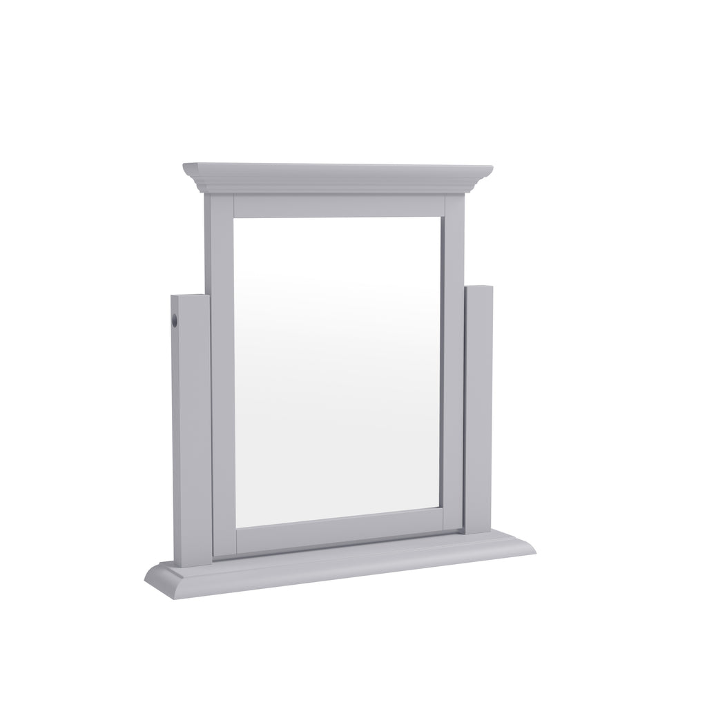 Paris Trinket Mirror Grey