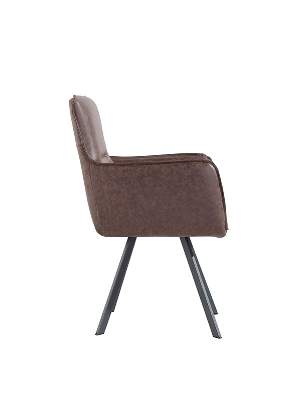 New York Carver Chair  Brown
