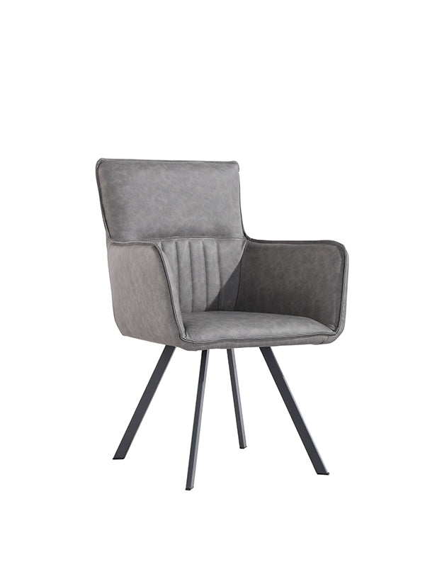 New York Carver Chair  Grey