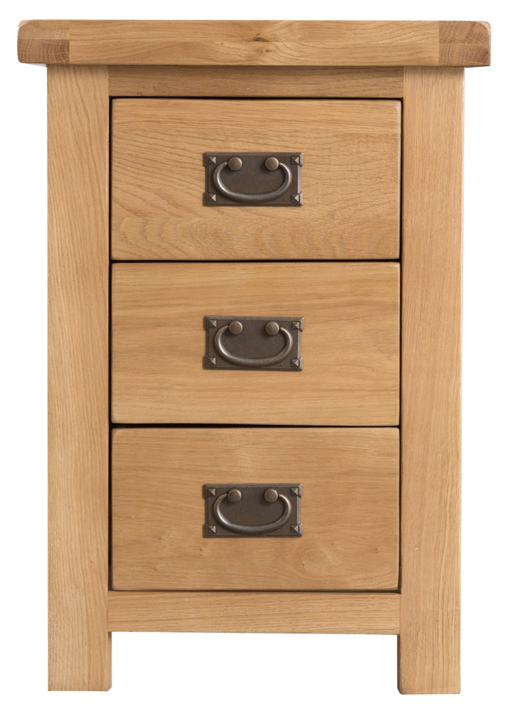 Sydney Large 3 Drawer Bedside Cabinet