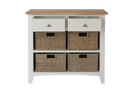 Barcelona 2 Drawer 4 Basket Unit
