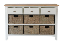Barcelona 3 Drawer 6 Basket Unit