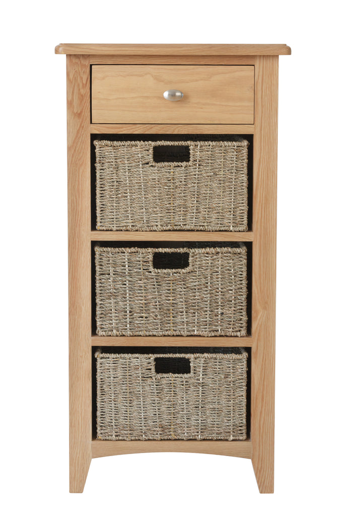 London 1 Drawer 3 Basket Unit