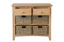 London 2 Drawer 4 Basket Unit