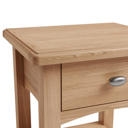 London 1 Drawer Lamp Table