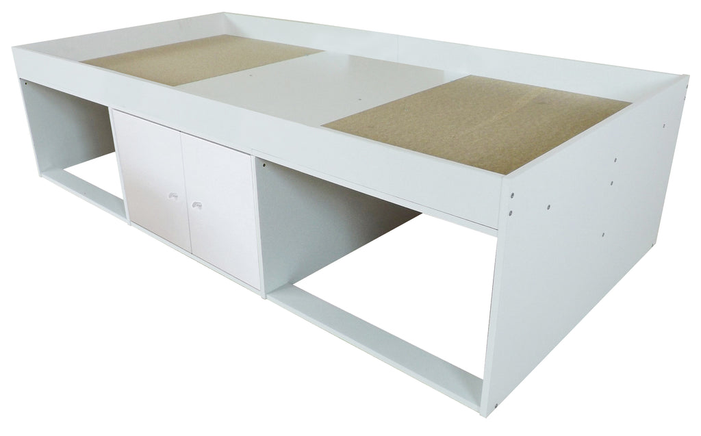 Low Single 3ft Cabin Bed WHITE