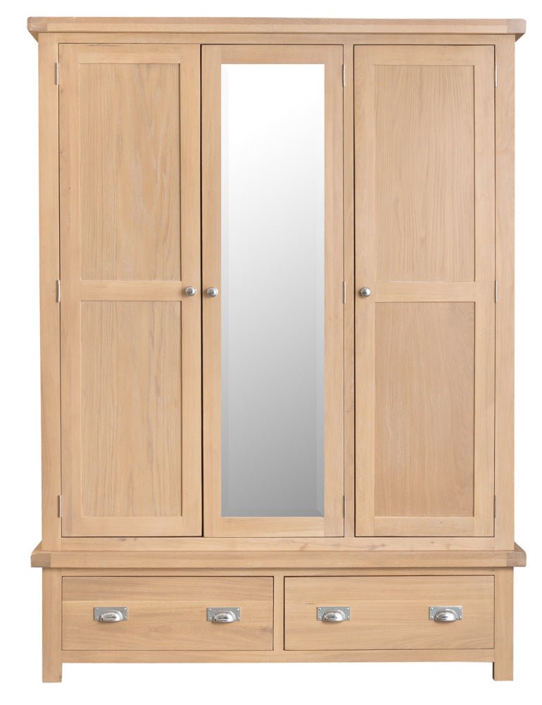San Francisco 3 Door Robe With Mirror