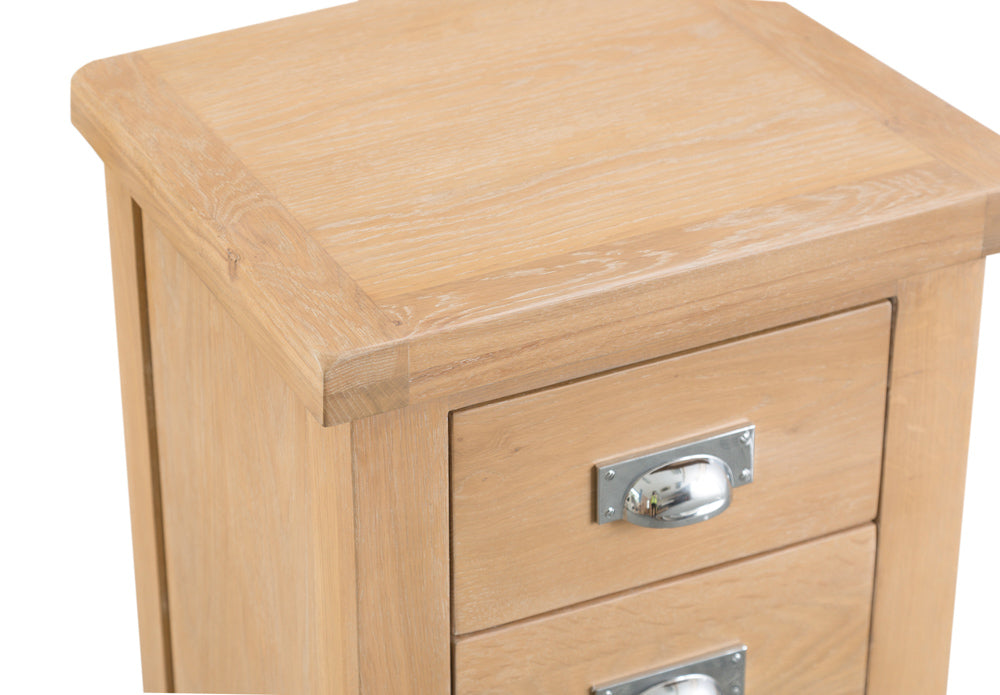 San Francisco Large 3 Drawer Bedside Cabinet